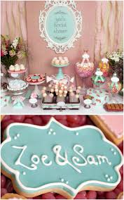 Bridal Shower Decor by Zoe U0027s Shabby Chic Bridal Shower Trueblu Bridal Shower Themes