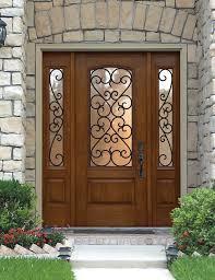 Wood Door Exterior Gorgeous Exterior Front Door For Trendy Home Apse Co