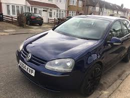 volkswagen golf 1 6 fsi petrol manual 2004 blue 4dr in heathrow