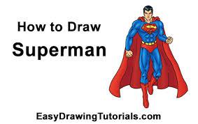 draw superman body
