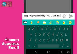 free emojis app for android minuum keyboard free emoji for android free at apk here