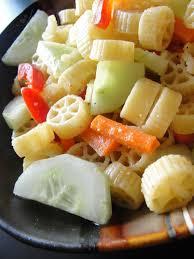 krithi u0027s kitchen pasta salad with lemon and peanut dressing