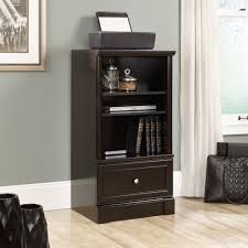 Darby Home Furniture New Sauder Furniture 416512 Palladia Wind Oak Technology Storage