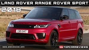 land rover sport price 2018 land rover range rover sport review rendered price specs