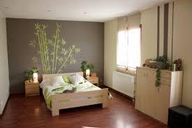 peinture deco chambre chambre adulte verte