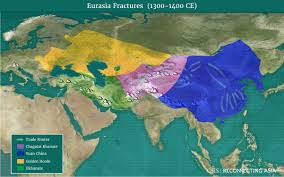 Eurasia Map Historical Atlas Reconnecting Asia