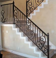 interior stair railing traditional staircase austin by san