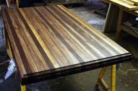 butcher block table tops fsc butcher block table top
