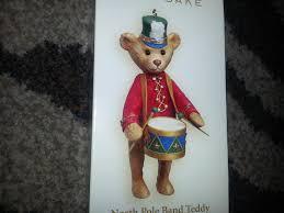hallmark keepsake 2006 north pole band teddy bear drum christmas