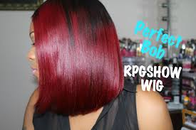 Cherry Red Hair Extensions by Rpgshow Bob Wig Diy Black To Red Ombre Hair Tutorial Ashanti