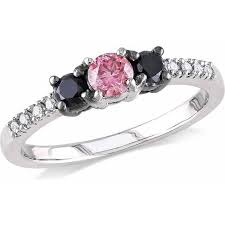 pink and black engagement rings cheap white gold pink diamond find white gold pink diamond deals