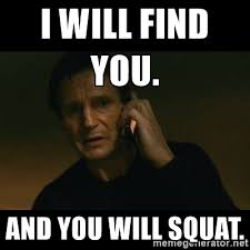 Squat Meme - blog posts crossfit ex
