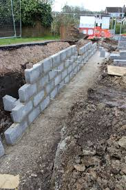 we have a wall or the beginnings of self build blog