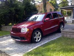 maroon jeep 2017 2006 jeep grand cherokee srt8 start up exhuast and in depth tour