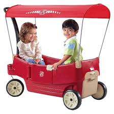 target radio flyer wagon black friday step2 all around canopy wagon red target