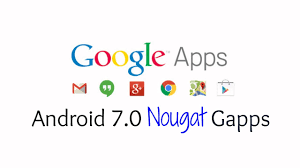 for android updated daily official android 7 0 7 1 nougat gapps