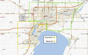 Appleton Wisconsin Map by Learn To Drive Driving Fox Cities Appleton Neenah