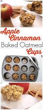 best 25 baked apple oatmeal ideas on apple oatmeal