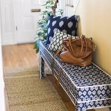 ikea bench hack diy upholstered ikea bench popsugar home