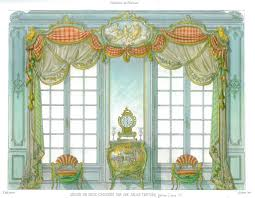 elaborate 19th century french curtain u0026 furniture designs french