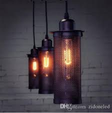 Retro Pendant Lights Discount Tom Dixton Vintage Lights Retro Hanging Lamp Net Iron