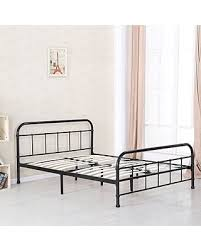Iron And Wood Headboards Tis The Season For Savings On Ikayaa Metal Platform Bed Frame With