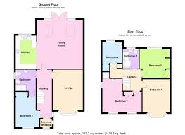 How To Read A Floor Plan by Bed Detached House For Sale In London Road Twickenham Floor Plan