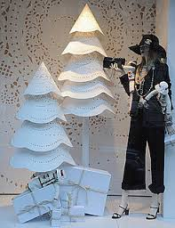 Holiday Christmas Window Decorations by Be Inspired By The Paris Chanel Holiday Decorations Laser Cut