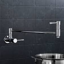 Kitchen Pot Filler Faucets Best Wall Mount Pot Filler Commercial Kitchen Faucets