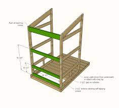 How To Build A Large Shed From Scratch by Ana White Outhouse Plan For Cabin Diy Projects