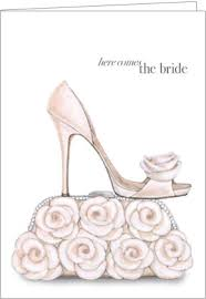 bridal cards shoe purse