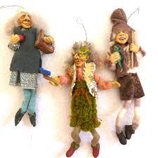 sculptured handmade troll doll ornaments nyform