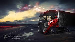 volvo lastebil lastbilsdekor till troeng design volvo youtube