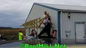 wind turbine roof mount system kit for residential youtube