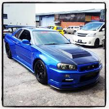 nissan skyline r34 paul walker 2001 nissan skyline gtt r34 m with end 1 28 2016 1 24 pm