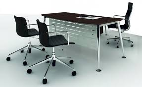 Chrome Office Desk Manager And Executive Desks Absolute Office Shop