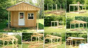 how to build a cabin house how to build a 12 20 wood cabin on a budget home design garden