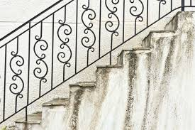 Stone Banister 35 Wrought Iron Stair Railing Ideas Photo Gallery