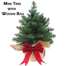 real mini christmas tree with lights mini artificial christmas trees with woven bag restricted space