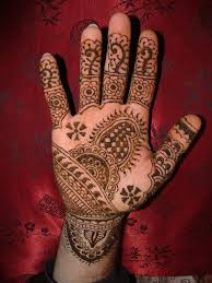 tribal henna tattoo on hand photo 1 real photo pictures