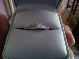 Wedding Rings At Walmart by Miabella 1 2 Carat T W Princess And Round Cut Diamond Engagement