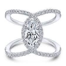 jewelry rings images Aurora 14k white gold marquise halo engagement ring jpg