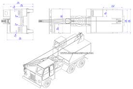 Woodworking Plans Free Pdf by Wooden Truck Crane Model Plan