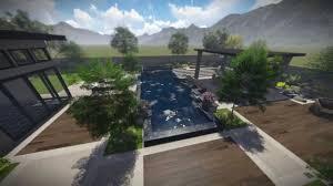 landscape modern landscape design