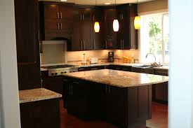 furniture incredible espresso kitchen cabinets and island with