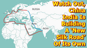 Silk Road Map Watch Out China India Is Building A U0027new Silk Road U0027 Of Its Own