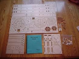 the ascent wooden gear clock kit