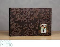 embossed photo album wedding albums books designed by pogo photo