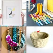 interior creative diy project ideas with easy and cheap stuffs