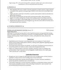 Lpn Resume Template Lpn Resume Exle Licensed Practical Lpn Resume Sle